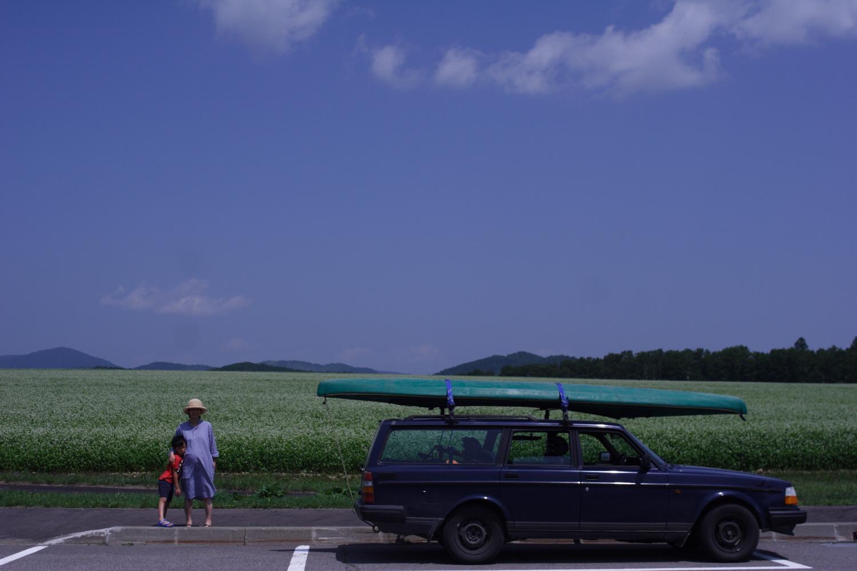 猛暑を避け、幌加内へ行ってきました。