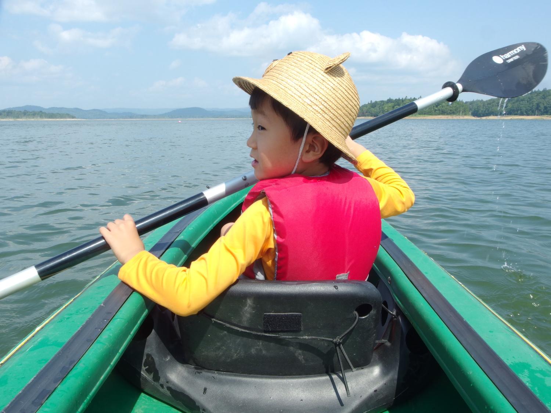 愛息と朱鞠内湖で冒険の旅へ。