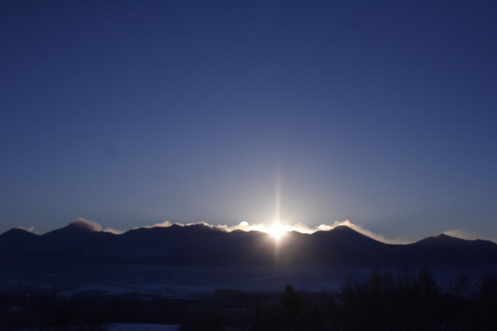 ‐30℃台まで冷え込んだ大晦日の朝。